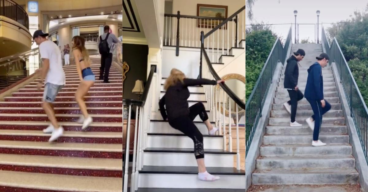 The Stair Challenge on TikTok Looks Like a Great Way to Really Hurt Yourself