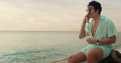 what does bad bunny say in the corona commercial