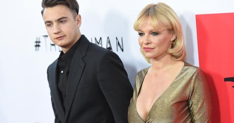 Pamela Anderson and Brandon Thomas Lee