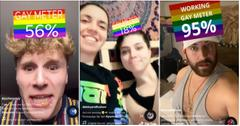 gaymeter instagram effect
