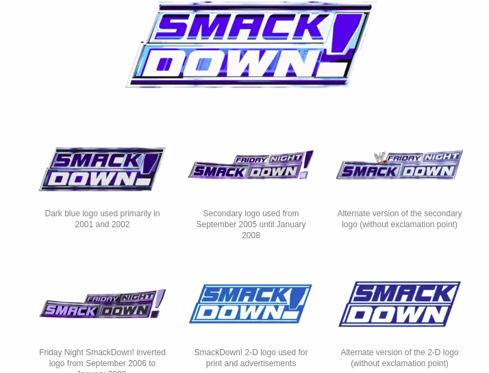 See the New 'SmackDown' Logo — Plus, When Will WWE Move to Fox?