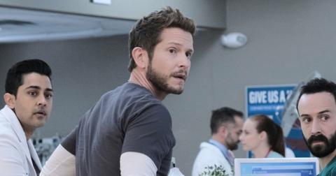 Matt Czuchry in 'The Resident'