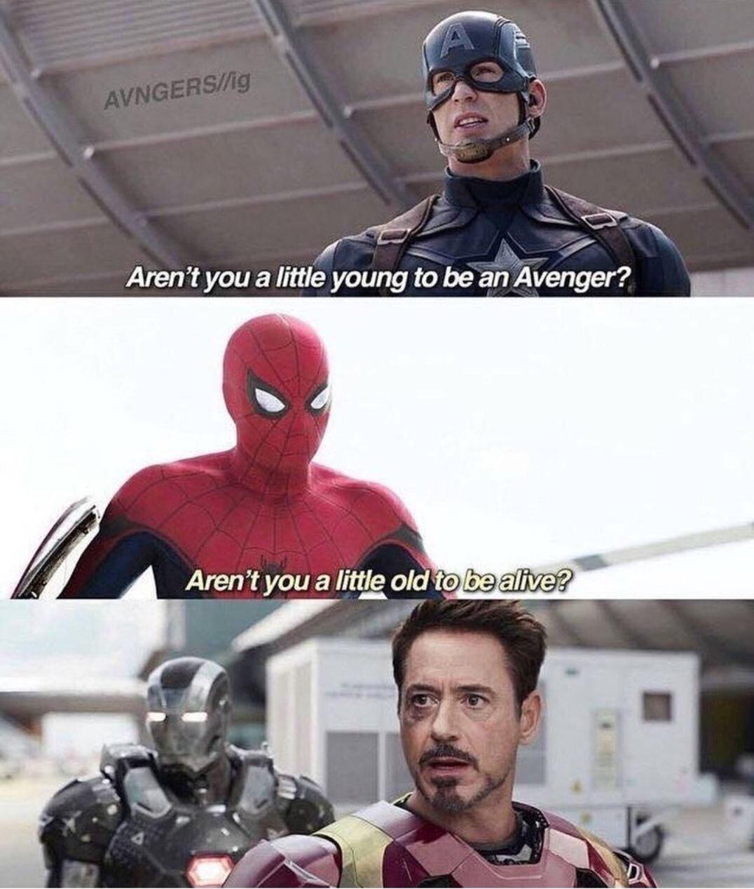 Superhero Memes That Will Even Make Captain America Laugh