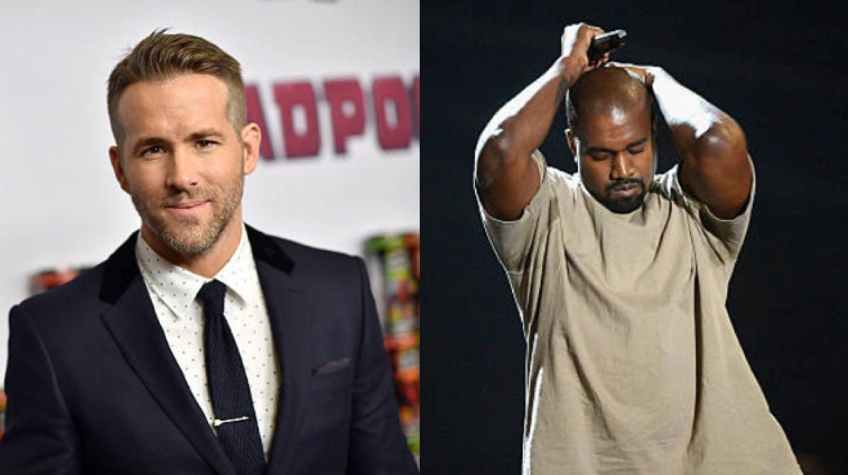 ryan reynolds and kanye west