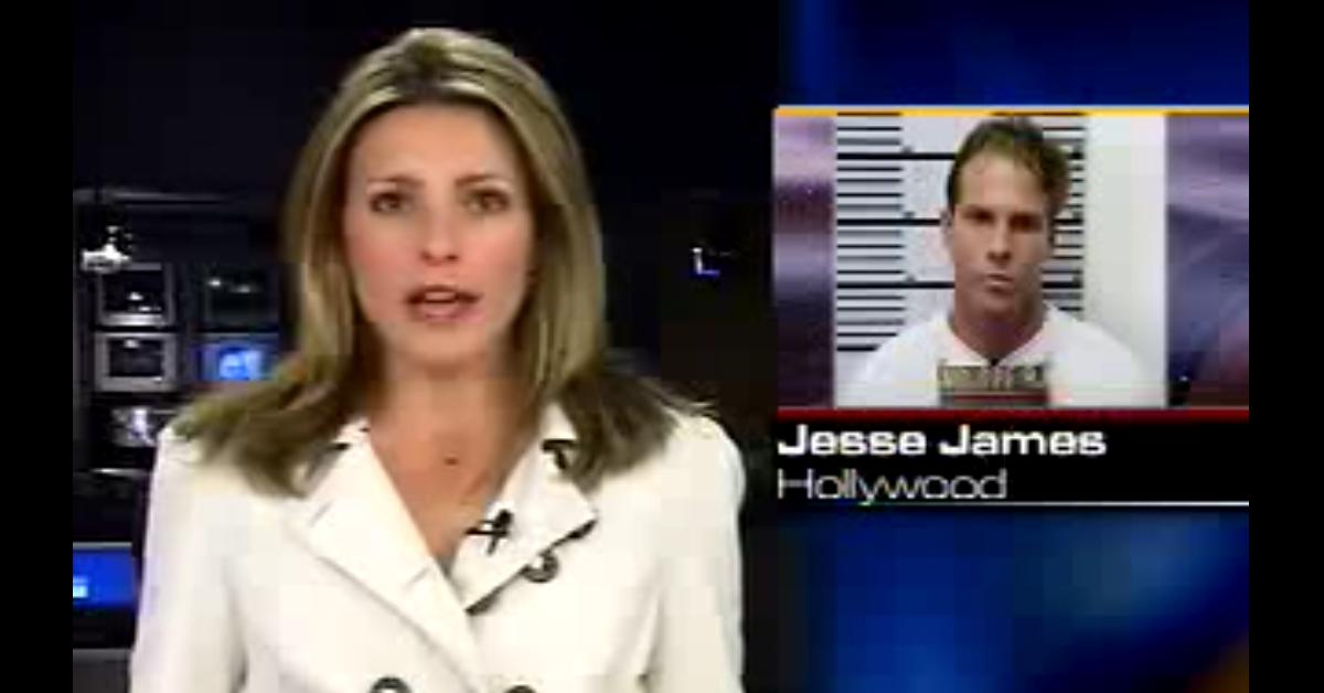 jesse james hollywood news