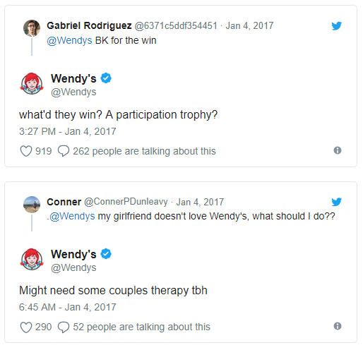 Billedresultat for wendy's twitter""