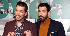 The Property Brothers with varying degrees of facial hair.