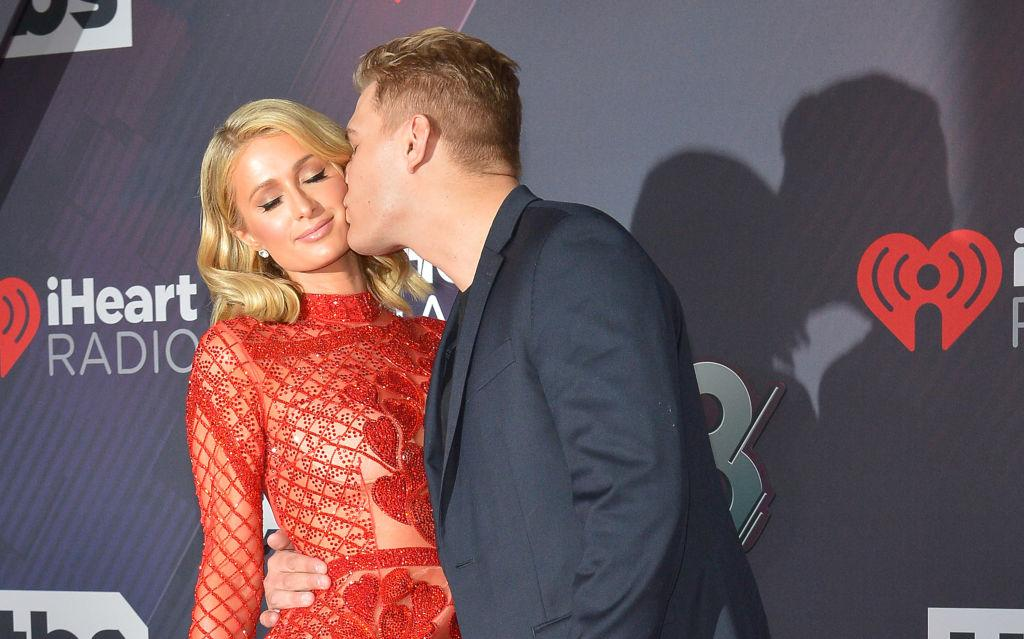paris hilton engaged thrice