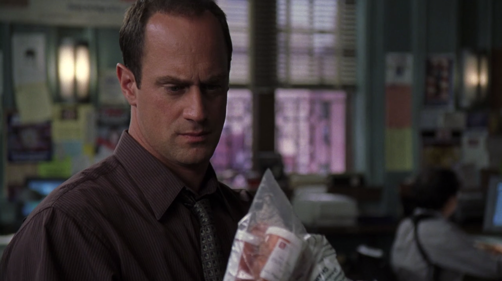 Stabler to what happened elliot Benson and