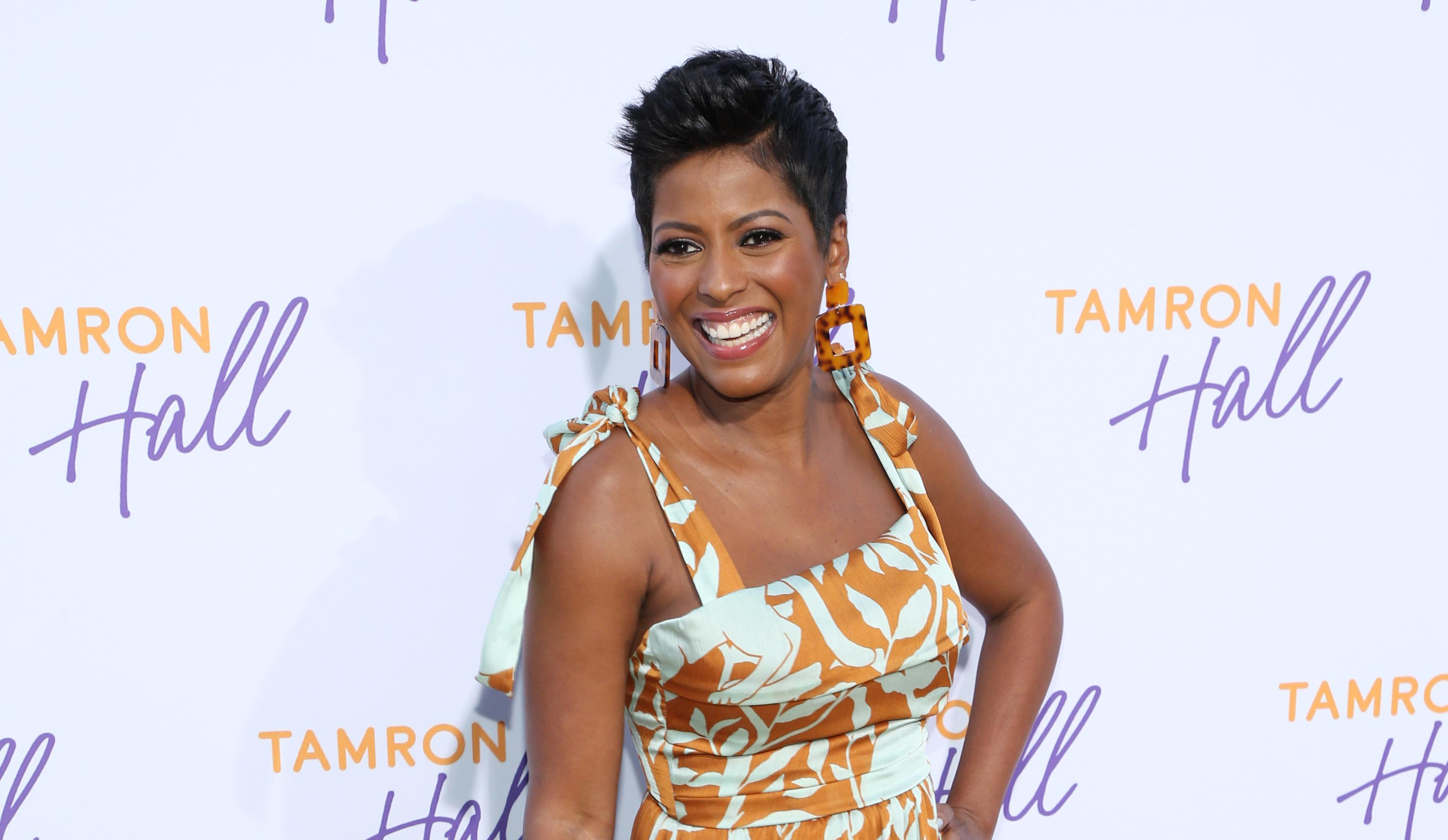 why did tamron hall leave the today show
