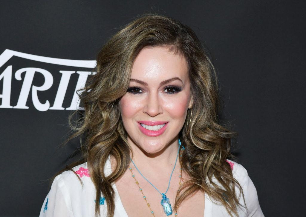 The Internet Went After Alyssa Milano's Crochet Mask