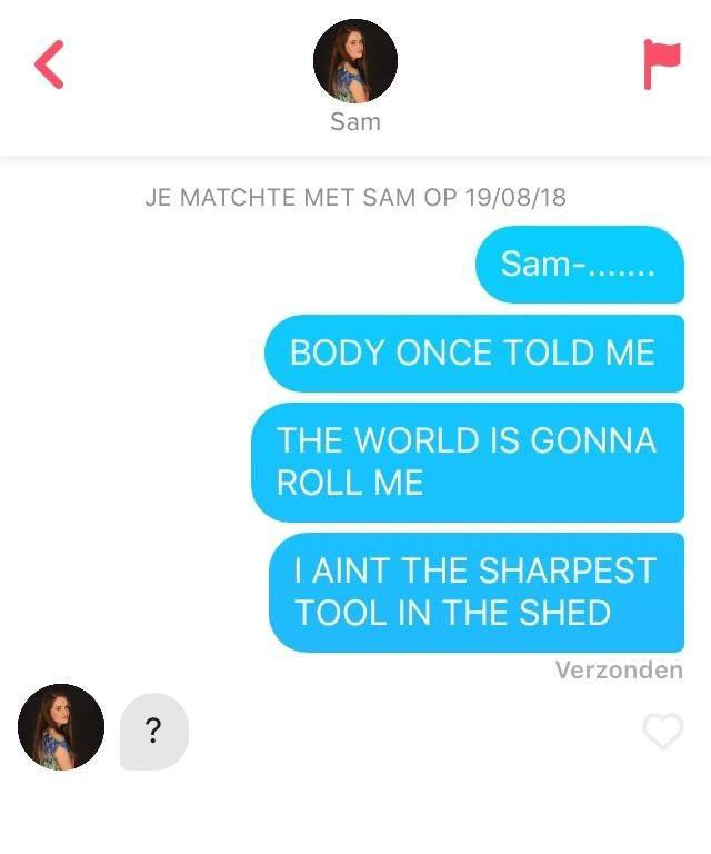 Best Tinder Pick up Lines Inspired by Match's Name