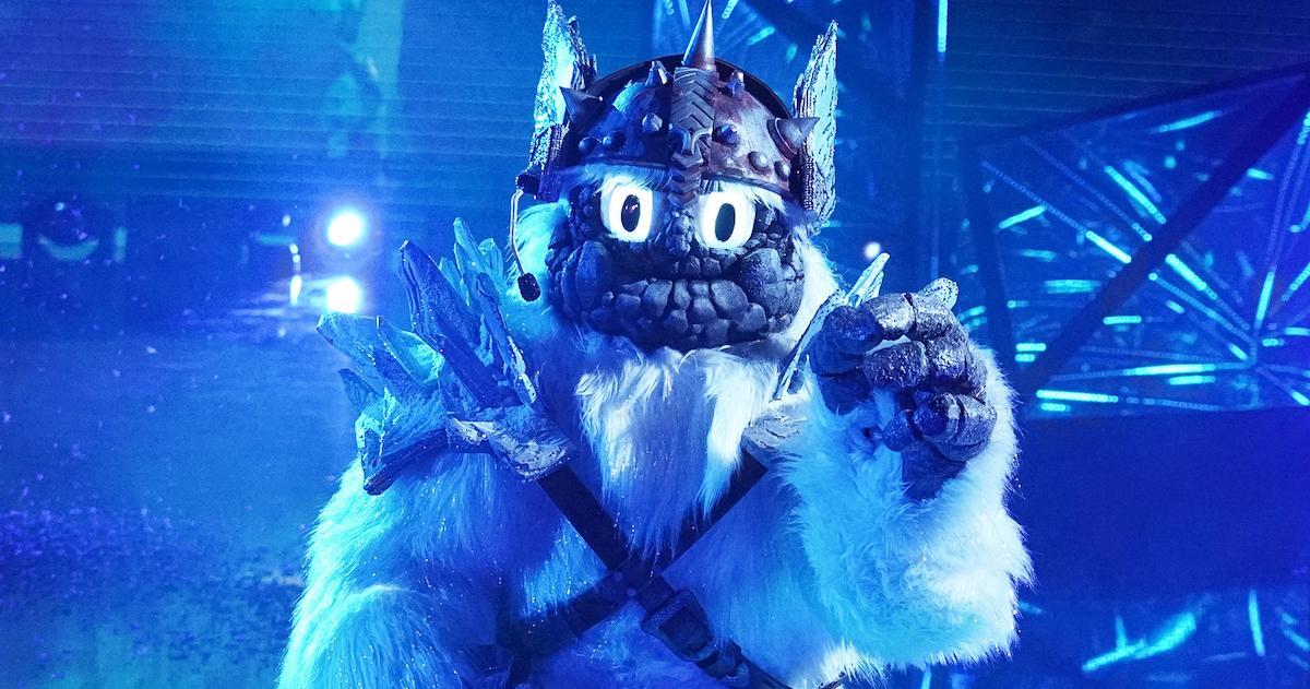 Yeti 'The Masked Singer'
