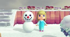 how to make a perfect snowman in animal crossing new horizons