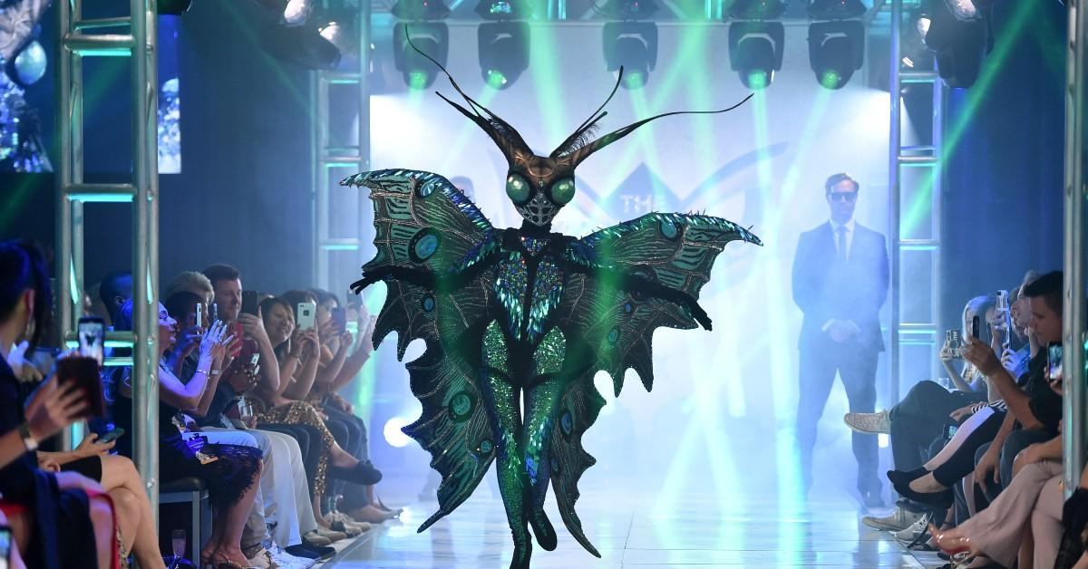 who is the butterfly masked singer clues