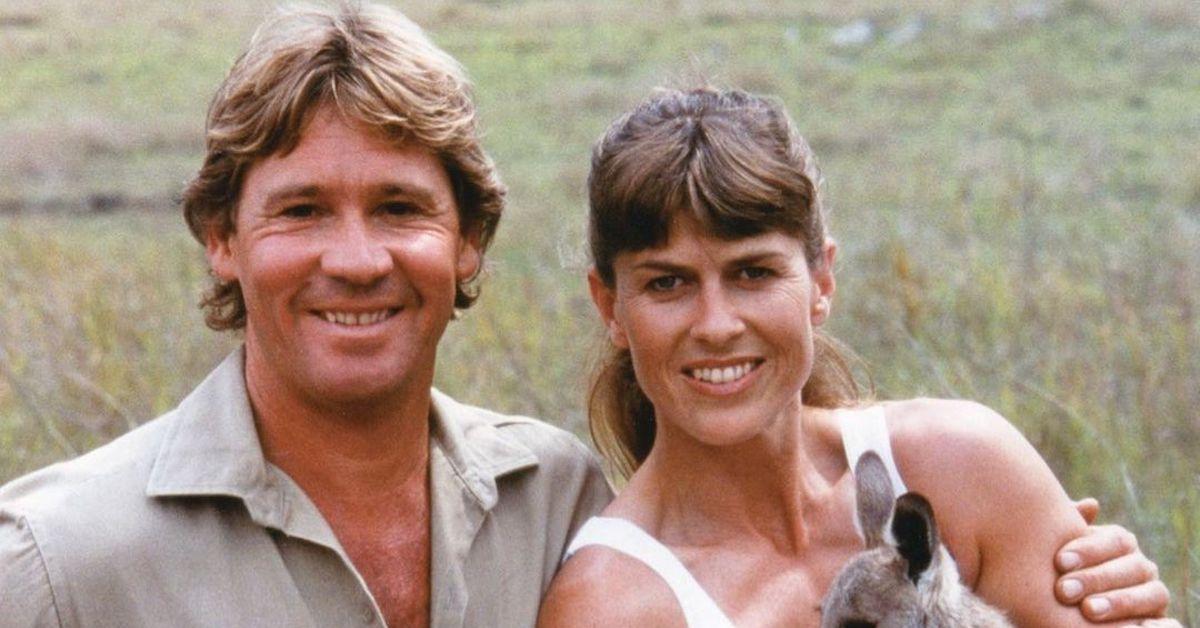 Steve Irwin and his wife Terri Irwin