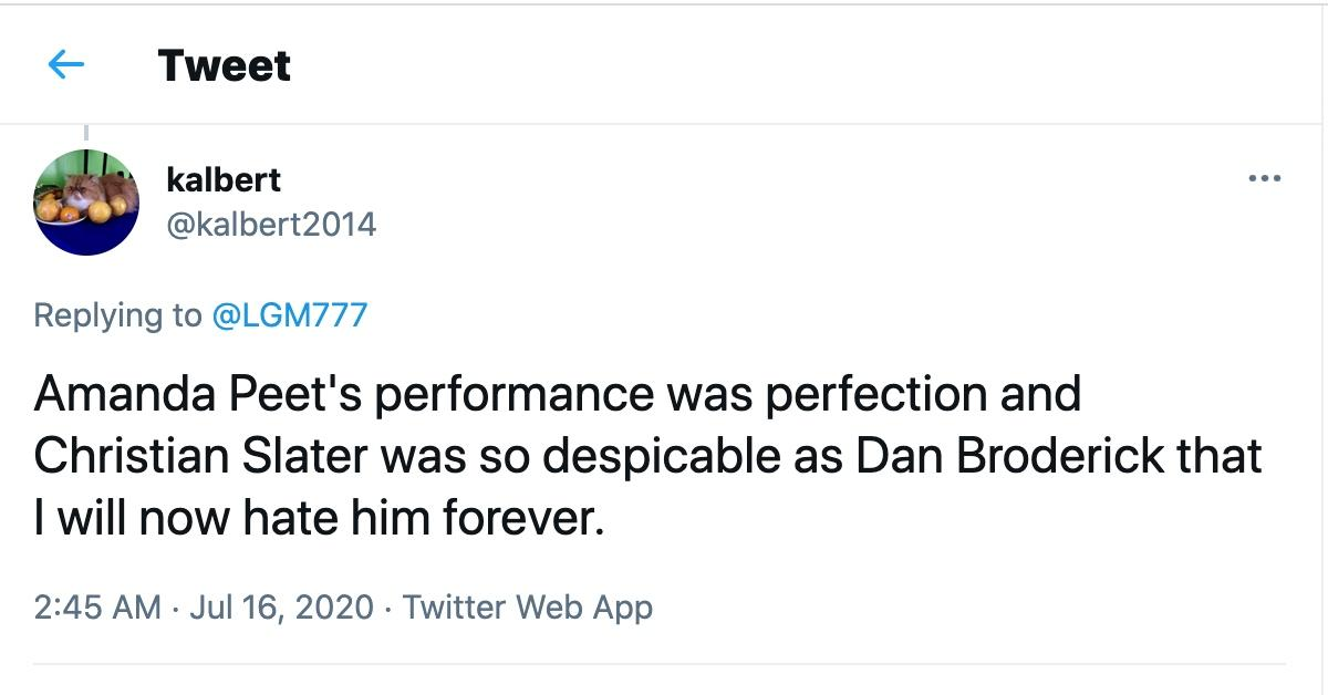 Tweet about Dirty John