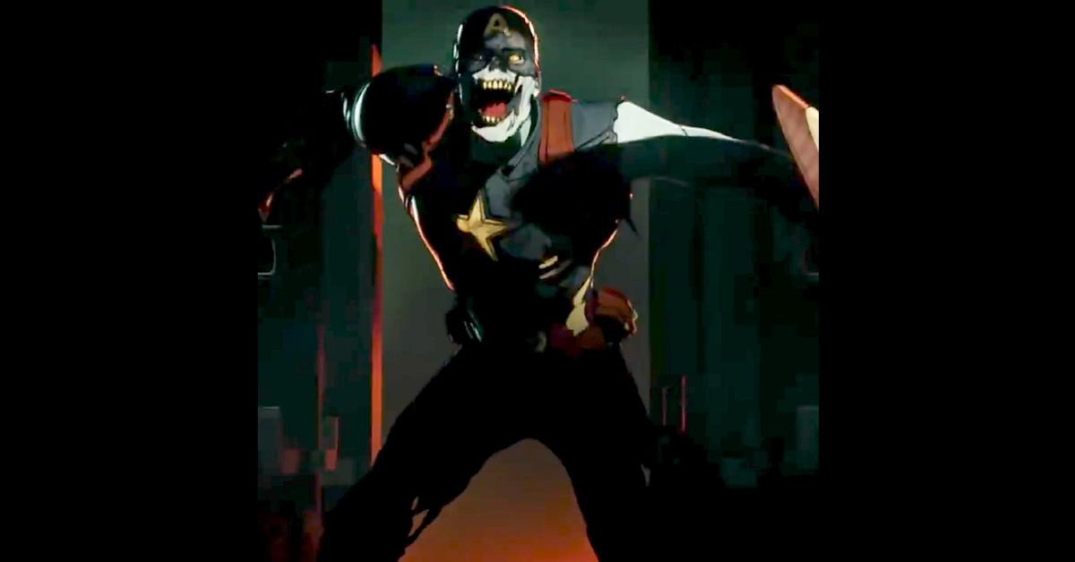 Zombie Captain America in 'What If...?'