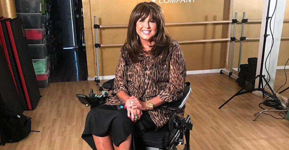 why is abby from dance moms in wheelchair