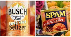 pumpkin spice foods header