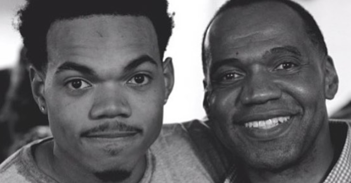 chance the rapper and father Ken Williams-Bennett