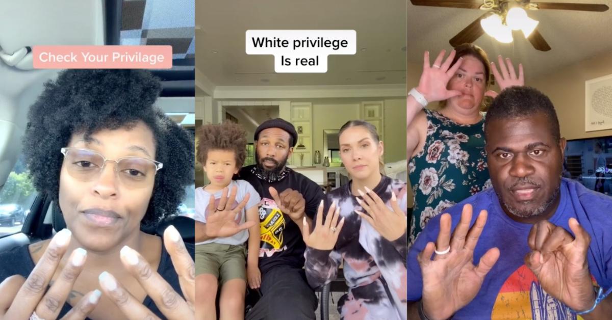 """Don't Believe in White Privilege? Do TikTok's """"Check Your Privilege"""" Challenge"""