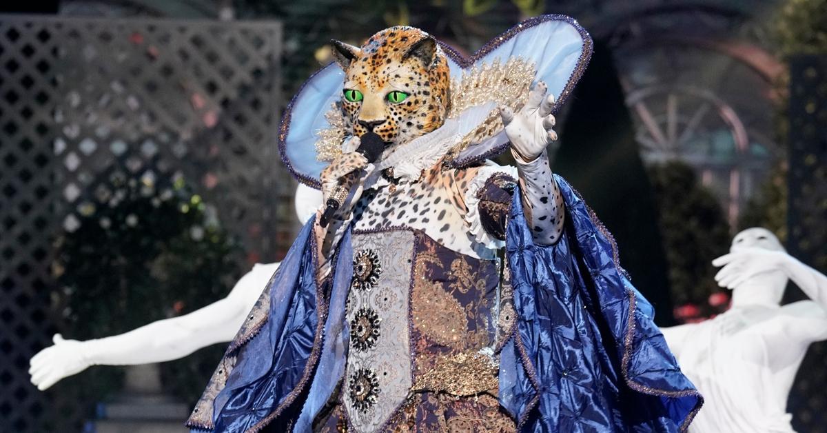 billy porter masked singer leopard