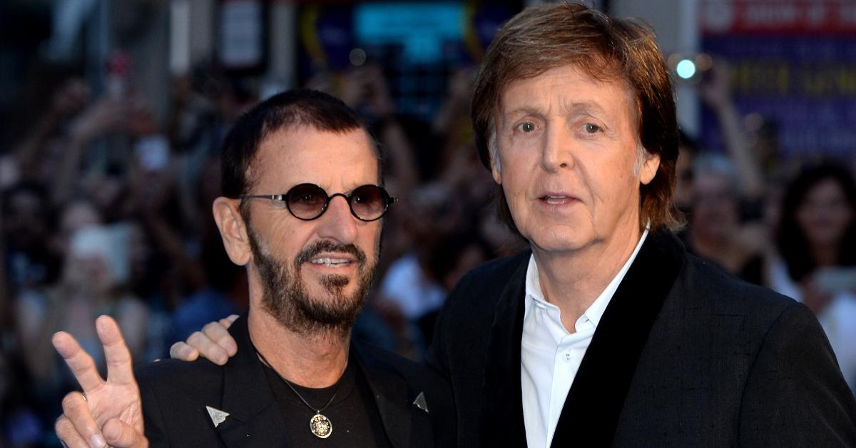 Ringo Starr and Former Beatles Bandmate Paul McCartney Are Still Great Friends