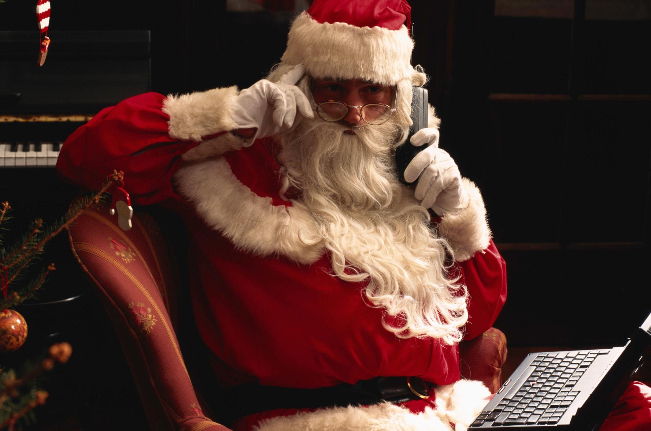call santa for bad kids
