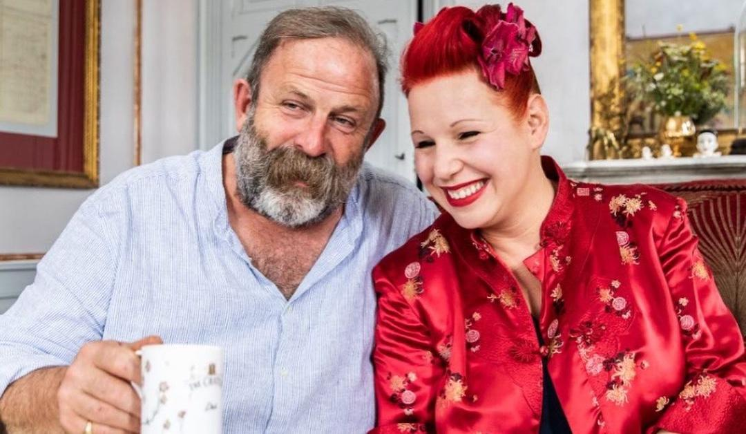 Dick and Angel Strawbridge from 'Escape to the Chateau'