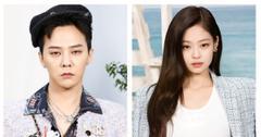 G-Dragon and Jennie Kim