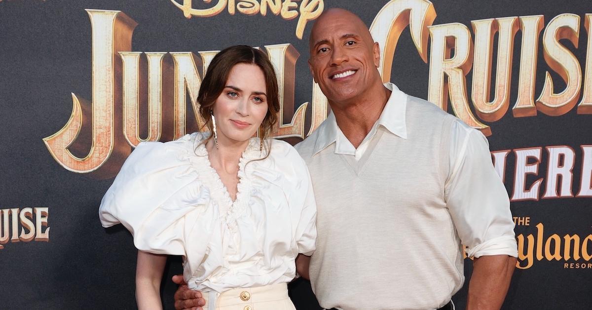 'Jungle Cruise' stars Emily Blunt and Dwayne Johnson