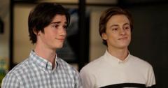 Oliver (Daniel DiMaggio) and Cooper (Logan Pepper)