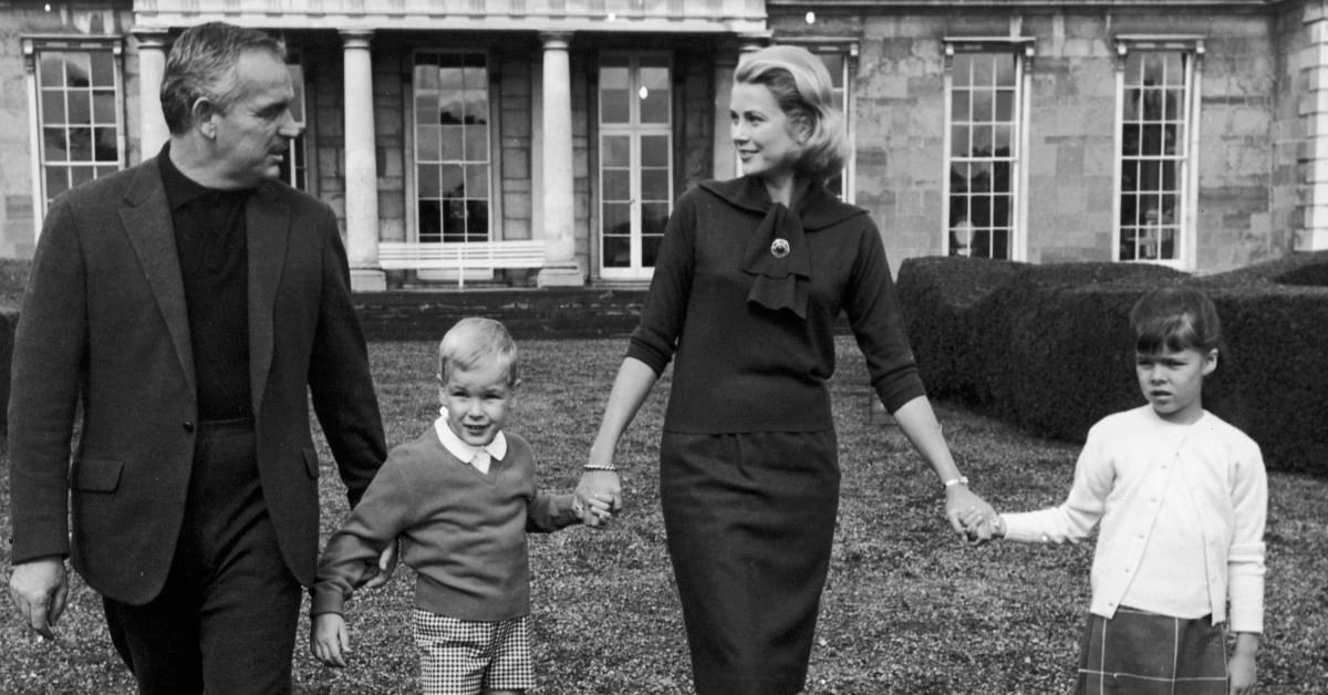 兰尼埃三世王子,阿尔贝二世王子,格蕾丝公主,卡罗琳公主