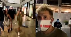 jake paul  protest looters
