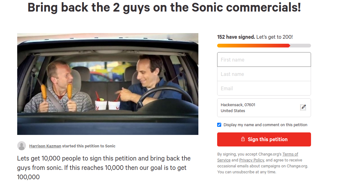 what happened to the sonic guys