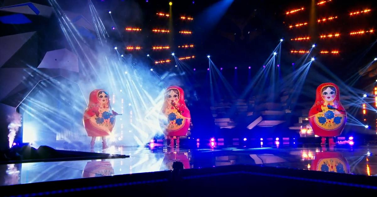 Russian Dolls in 'The Masked Singer'