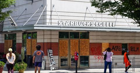 starbucks boycott blm