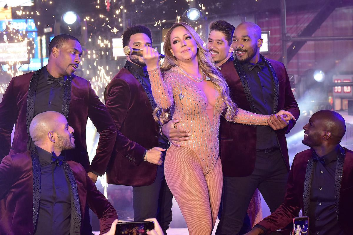 mariah carey new years eve