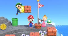 Super Mario Bros. in Animal Crossing