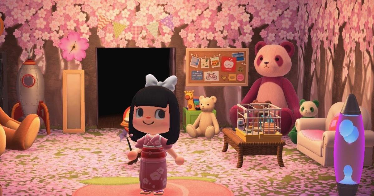 Here S How To Catch Cherry Blossom Petals In Animal Crossing