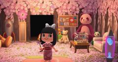 how to catch cherry blossom petals animal crossing