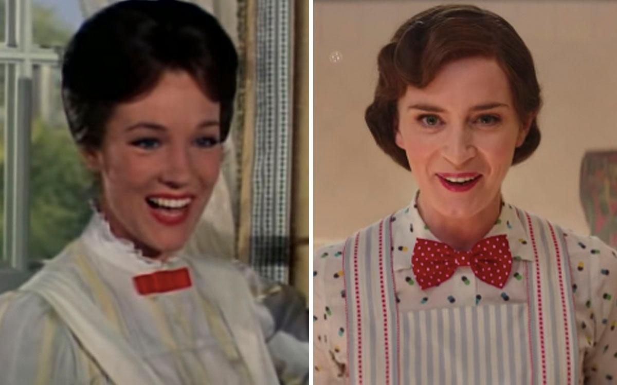 why isnt julie andrews in the new mary poppins