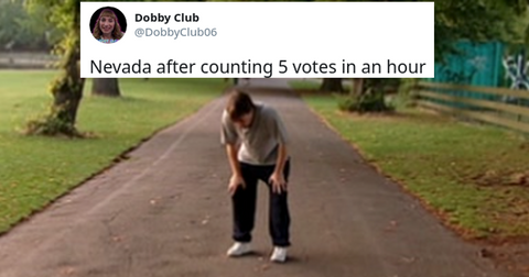 Everyone's Making Memes About How Long Nevada's Taking to Count Votes