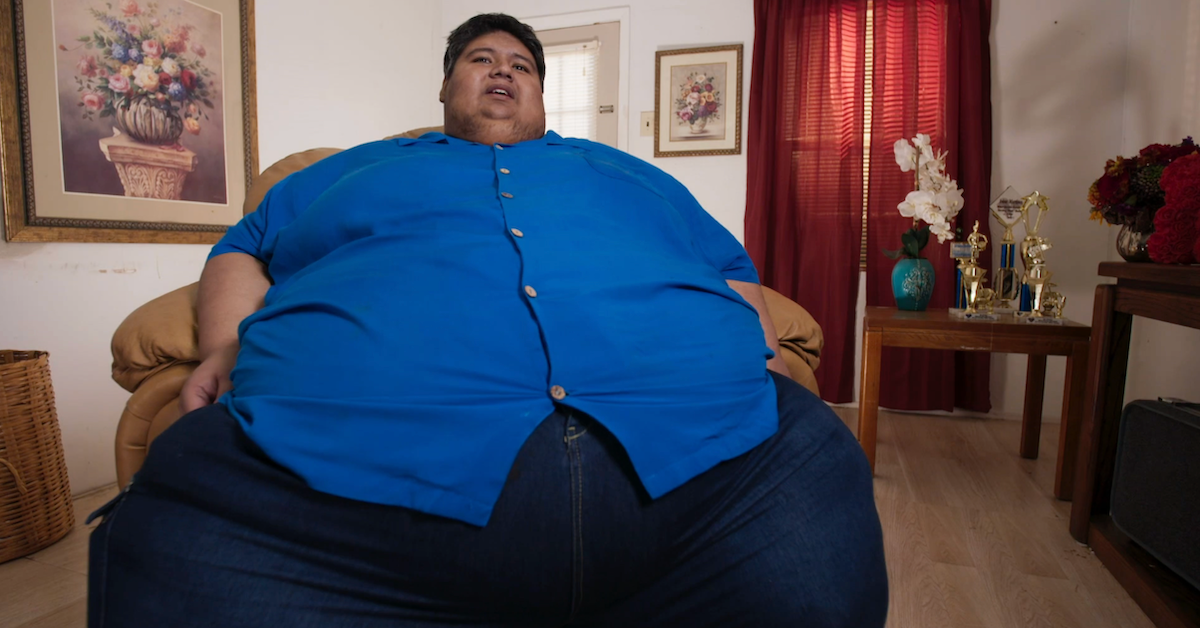 Isaac from 'My 600-lb Life'