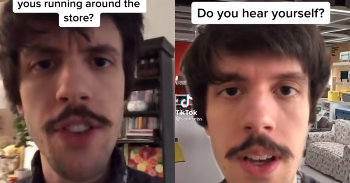 """IKEA Guy"" Scorches Customer's Dumb Questions on TikTok"