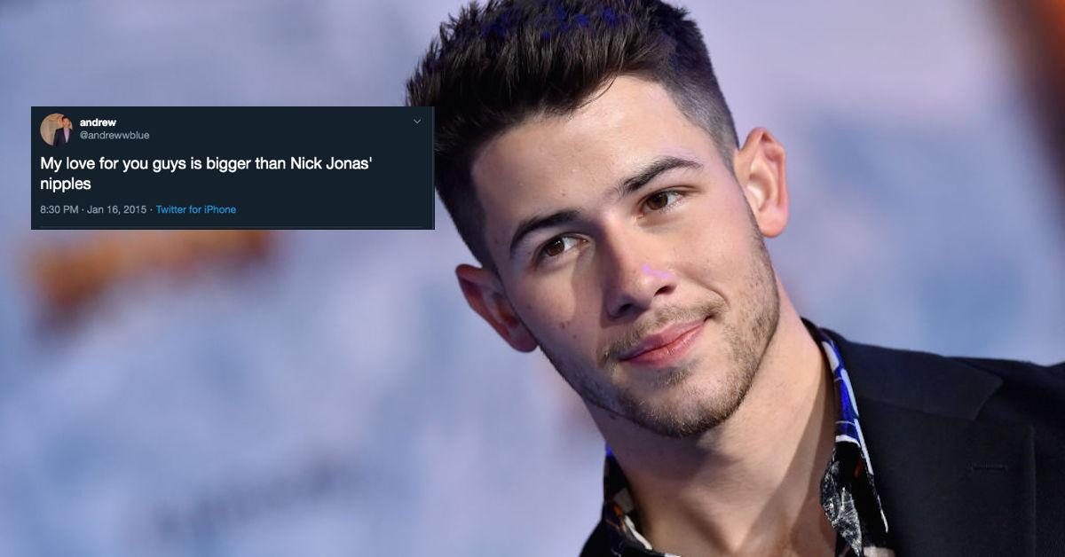 Nick Jonas Nipples