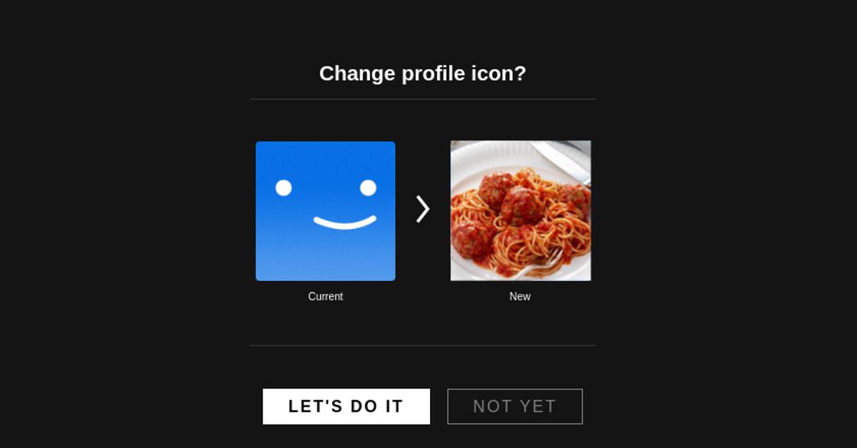 Netflix Profile Picture