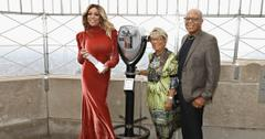 Wendy Williams and her parents Shirley.