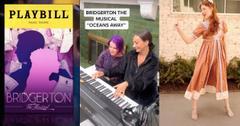 Screenshots of the 'Bridgerton' Musical on TikTok